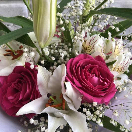«Вишневый сад»: букеты цветов на заказ Flowwow