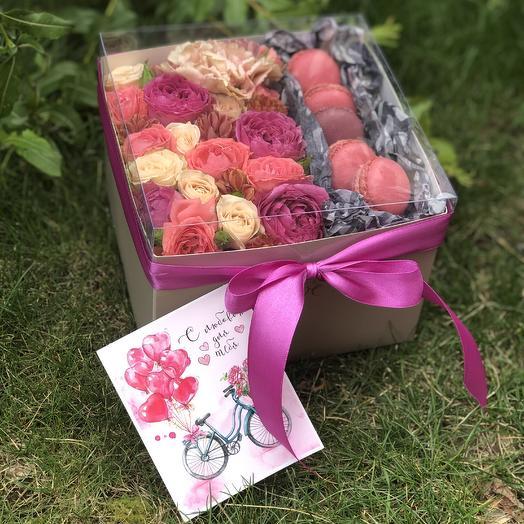 Сладость на радость: букеты цветов на заказ Flowwow