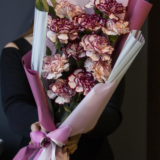 Гвоздика нового формата: букеты цветов на заказ Flowwow