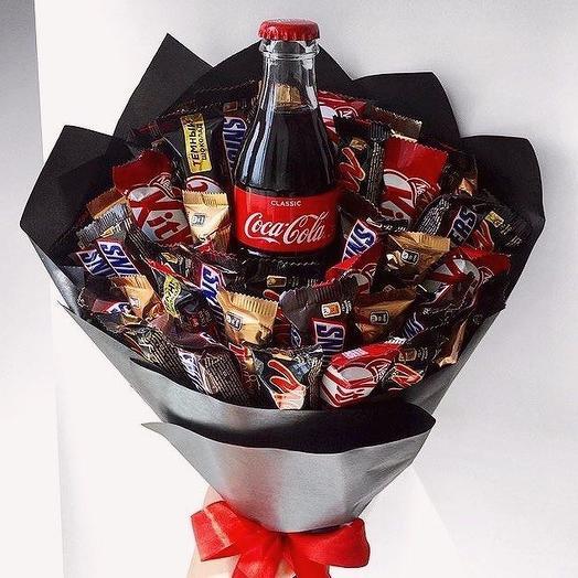 Шоколадный микс: букеты цветов на заказ Flowwow