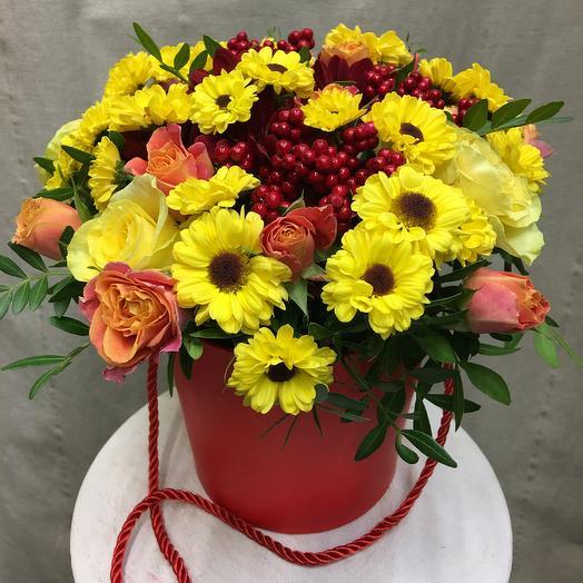 «Принцесса Осень»: букеты цветов на заказ Flowwow