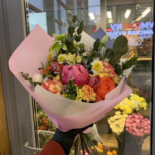 Букет детская радость: букеты цветов на заказ Flowwow