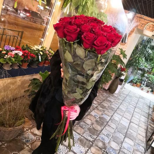 Роза эквадор высота 1метр 10см