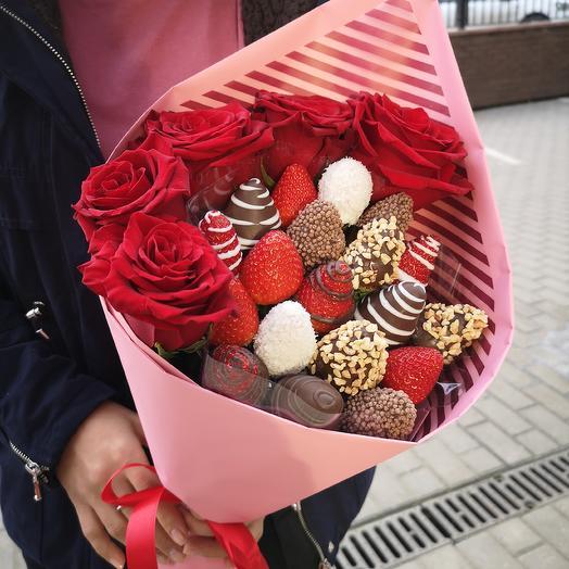 Pink classic: букеты цветов на заказ Flowwow