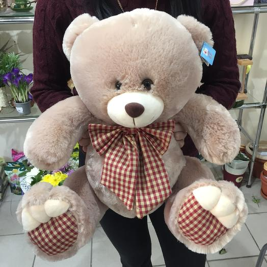 Плюшевый медведь: букеты цветов на заказ Flowwow