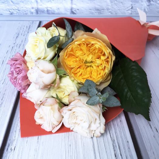 Букет «Sole»: букеты цветов на заказ Flowwow