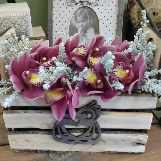 Совы нежные: букеты цветов на заказ Flowwow