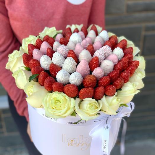 Рококо L микс с розами