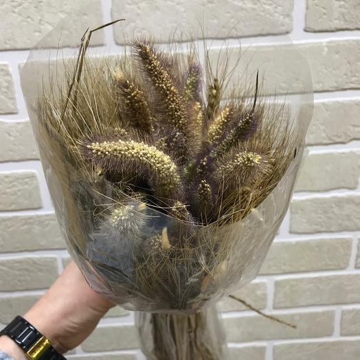 Букетик из пшеницы и чумизы