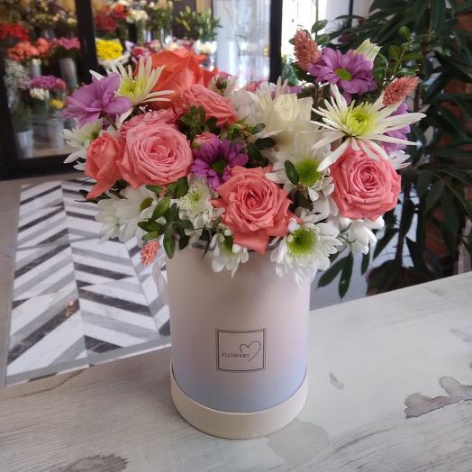 Цветы в коробке  Flowers