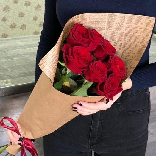 Розы в крафте💓