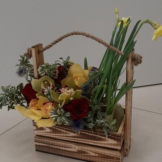 Цветы в коробке (Вера)