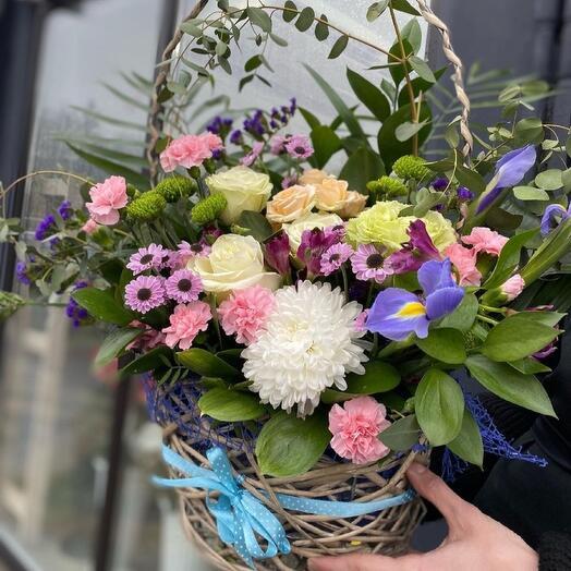 12💥Корзина с цветами