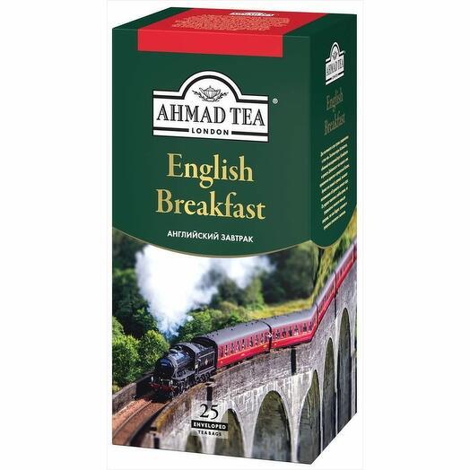 Чай Ахмад черный Английский Завтрак 25 пак