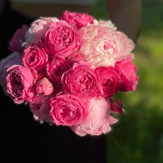 Свадебный букет «Яркий»