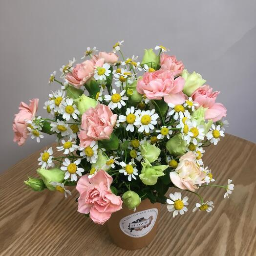 Капучино на цветочном