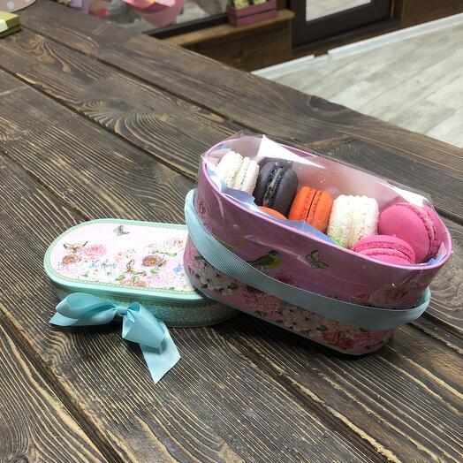 Печенье в коробке Сундучок