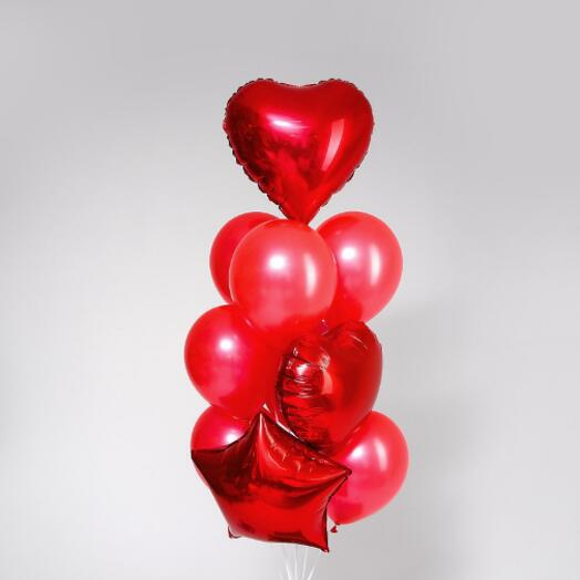 Набор шаров «Любовь»,  10 шт