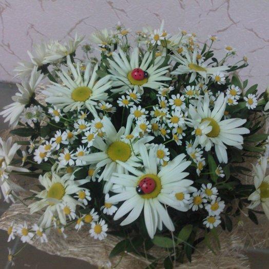 Букет полюшко: букеты цветов на заказ Flowwow