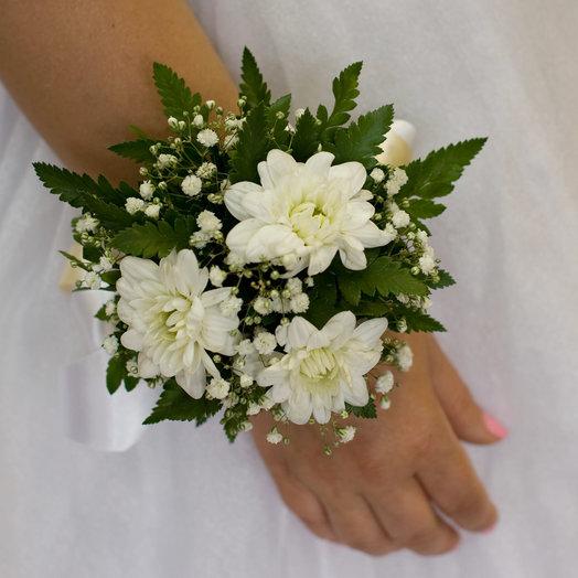 Браслет из живых цветов: букеты цветов на заказ Flowwow
