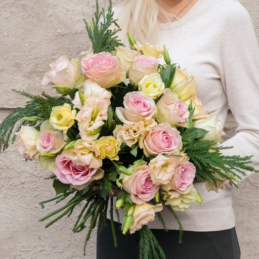 Букет  Пастель: букеты цветов на заказ Flowwow