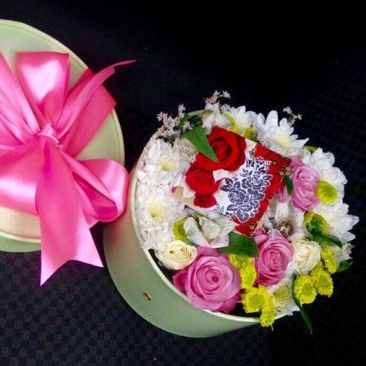 Цветочный комплимент 9: букеты цветов на заказ Flowwow