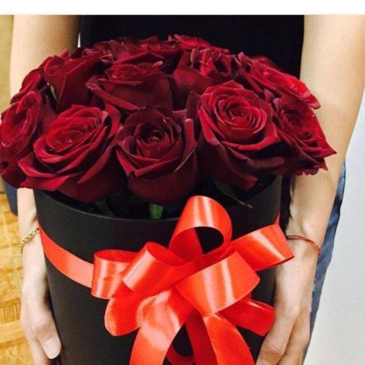Композиция Розы Любви: букеты цветов на заказ Flowwow