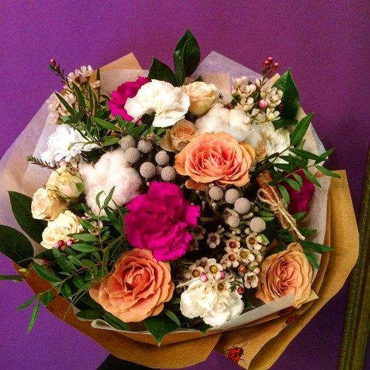 Каппучино со льдом: букеты цветов на заказ Flowwow