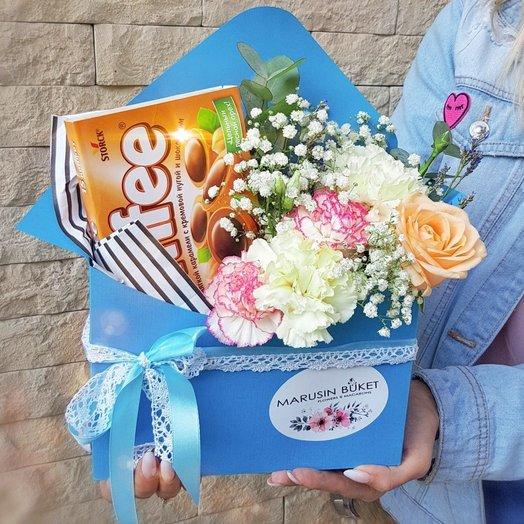Цветочное послание: букеты цветов на заказ Flowwow