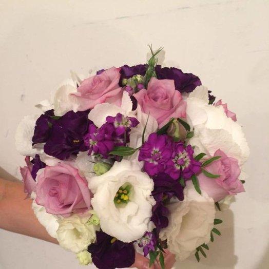Букет для невесты Райская жизнь: букеты цветов на заказ Flowwow