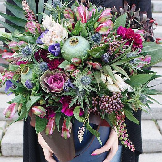 Мужской букет Premium: букеты цветов на заказ Flowwow