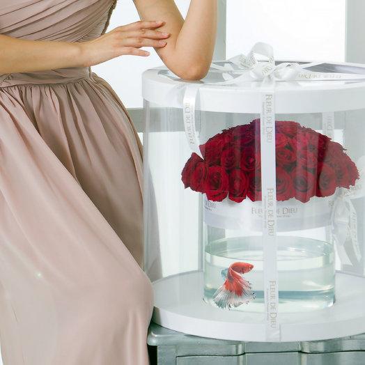 Цветочный аквариум