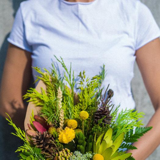 Солнце со шпилькой: букеты цветов на заказ Flowwow
