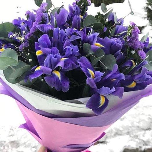 """Букет """"Яркая волна"""": букеты цветов на заказ Flowwow"""