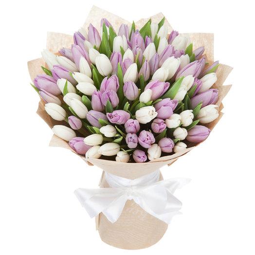 Нежная Пастель: букеты цветов на заказ Flowwow