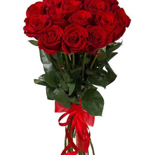 Букет из 15 роз.: букеты цветов на заказ Flowwow