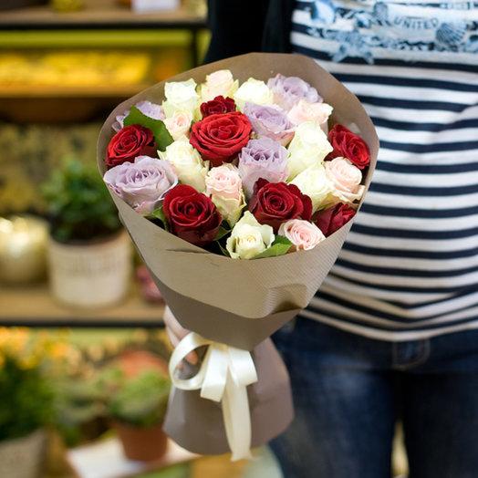 """Букет из роз """"Кения"""": букеты цветов на заказ Flowwow"""