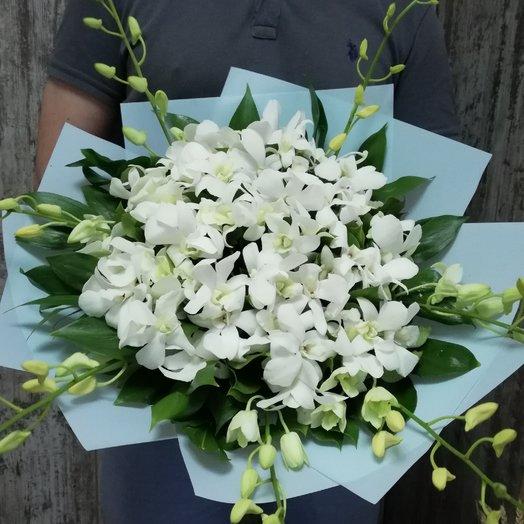 Орхидеи белые: букеты цветов на заказ Flowwow