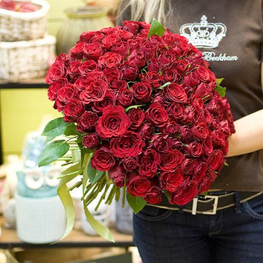 """Букет из роз """"Опера Крамен"""" : букеты цветов на заказ Flowwow"""