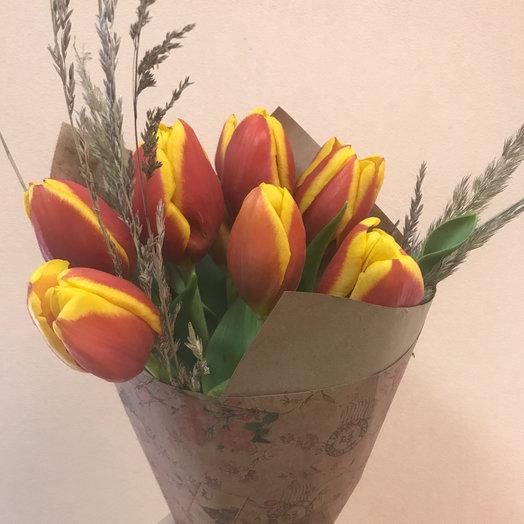 Тюльпаны : букеты цветов на заказ Flowwow