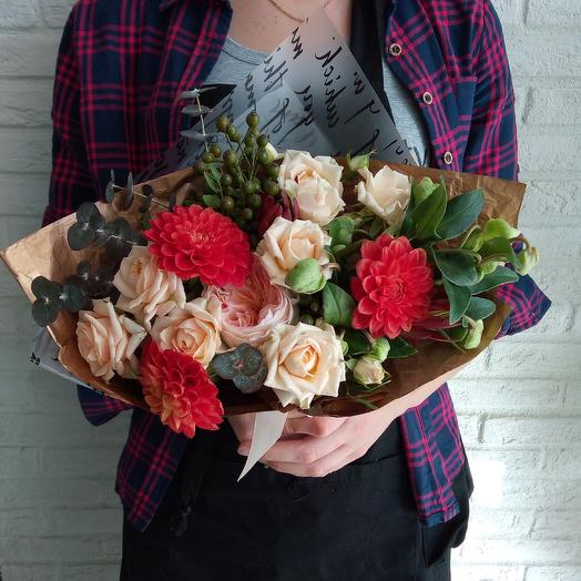 Осенний комплимент : букеты цветов на заказ Flowwow
