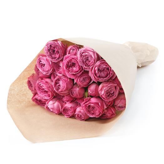 """Букет с пионовидными розами """"Мисти Бабблс"""""""": букеты цветов на заказ Flowwow"""