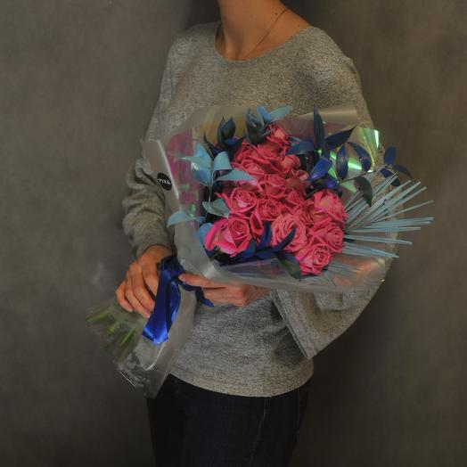 Аква блю: букеты цветов на заказ Flowwow