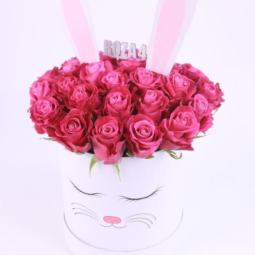 """Композиция """"Зайка"""": букеты цветов на заказ Flowwow"""