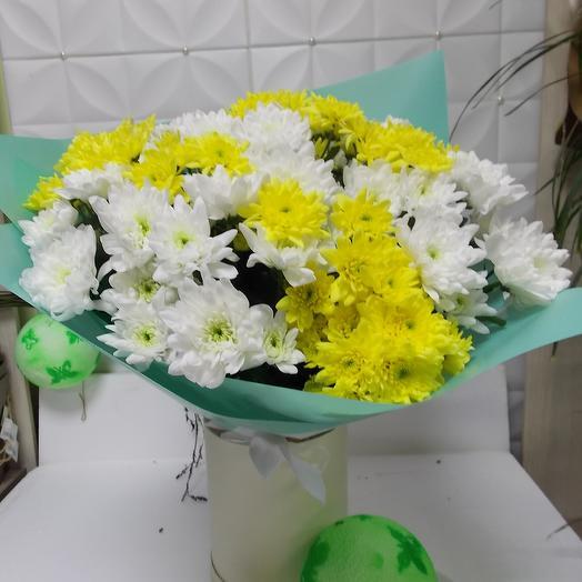 Букет из хризантем 15 шт