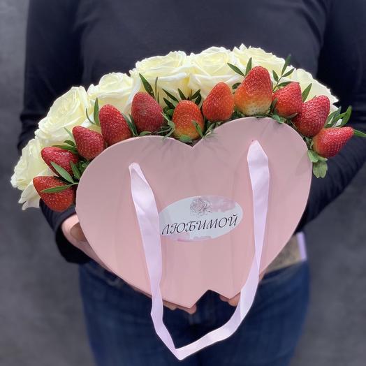 Композиция к 14 февраля: букеты цветов на заказ Flowwow