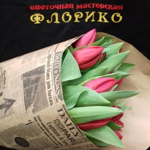 Тюльпан 19: букеты цветов на заказ Flowwow
