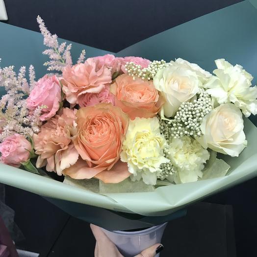Весенний градиент: букеты цветов на заказ Flowwow