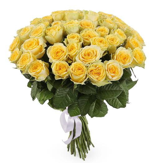 Букет 51 роза Илиос: букеты цветов на заказ Flowwow
