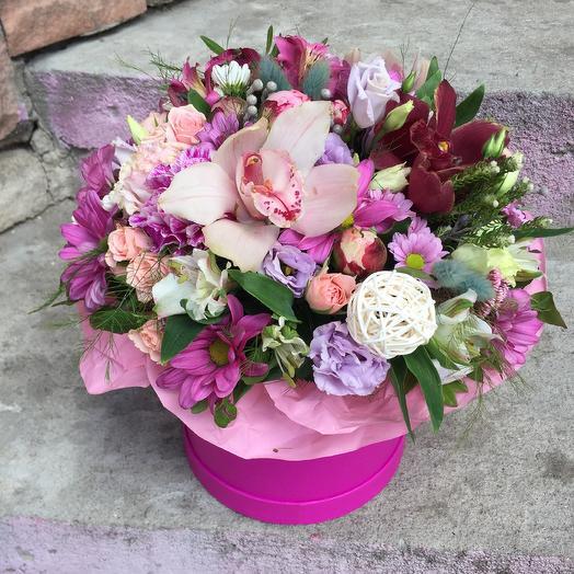 Коробка мечты: букеты цветов на заказ Flowwow
